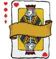 Jack playing card symbols vector