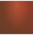 Gold lattice on red background vector
