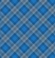 Blue fabric pattern vector