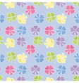 Seamless pattern from the tied ribbons in pastel t vector