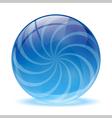 3d glass sphere vector