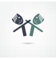 Friends icon vector
