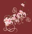 Blossom cherry vector