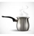Iron pot vector