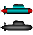 Submarines vector