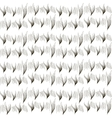 Seamless texture of fur ermine black and white vector
