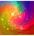 Abstract circular colorful background for your des vector