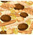 Bread seamless vector