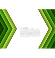 Paper a4 sheet green direction design vector