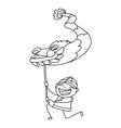 Chinese new year cartoon character vector