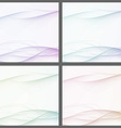 Collection of abstract swoosh line certificates vector