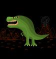 Funny tyrannosaurus rex vector