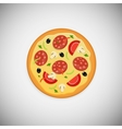 Pizza wood application icons vector