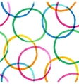 Seamless pattern with watercolor painted circles vector