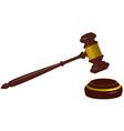 Hammer of justice vector