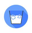 Ice bucket challenge flat style icon vector