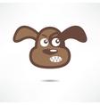 Angry dog vector