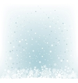 Soft light blue snow mesh background vector