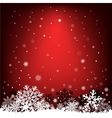 Dark red snow mesh background vector