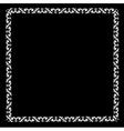 Openwork frame vector