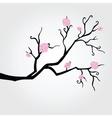 Branch in bloom vector