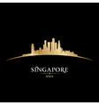 Singapore asia city skyline silhouette vector