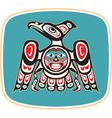 Eagle - native american style vector