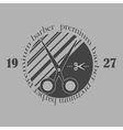 Vintage barber shop logo labels badges and vector