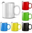 Set of cups vector