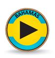 Bahamas seal vector