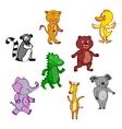File eps10 hand-drawn cartoon wild icon vector