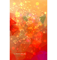 Abstract colorful background with magic particles vector