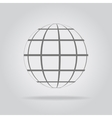 Abstract sphere in a strip vector