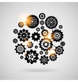 Cogs and gears vector