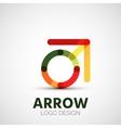 Arrow company logo vector