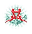 Tattoo anchor vector
