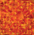 Autumn glass mosaic vector