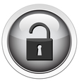 Padlock unlocked icon vector