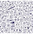 School seamless background vector