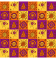 Ethnical african seamless geometric pattern vector