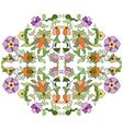 Ottoman motifs design series eighty eight vector