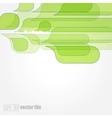 Abstract green leaves eco background vector