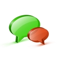 Chat or website support concept vector