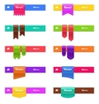 Set of web elements isolated on white vector
