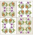Ottoman motifs design series eighty four vector