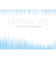 Certificate - blue halftone background vector