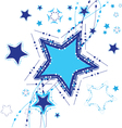 Star background advent star vector