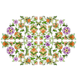 Ottoman motifs design series eighty nine vector