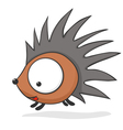 Cartoon baby hedgehog vector