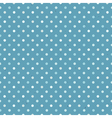 Blue seamless polka dot pattern textured vector